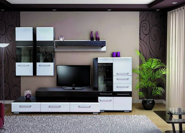 Modular Furniture For Living Room Is Conditionally Divided Into Universal  And Furniture Of Direct Destination. With The Help Of A Universal It Is  Possible ...