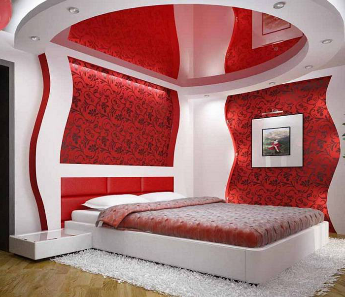 25 Stylish Red Bedroom Design With Photos Make Simple Design