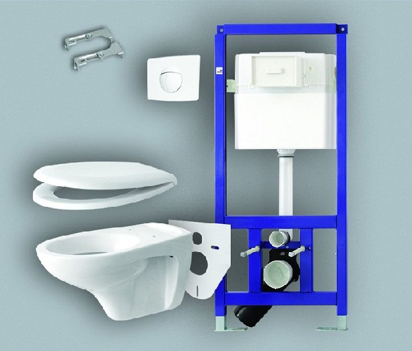 Hanging Commode: Suspended Toilet: Selection Criteria And Varieties Of 30