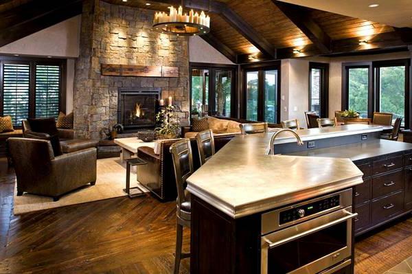 Kitchen Living Room Basic Principles Of Planning And Decoration Make Simple Design