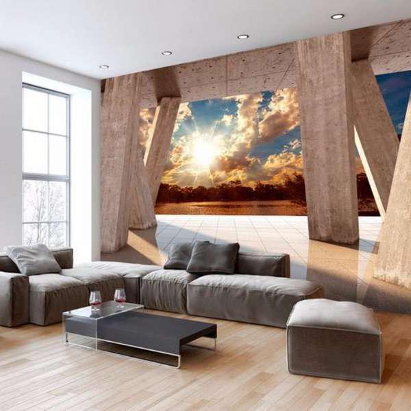 59 3D Modern Interior Wallpapers 2018 - Make Simple Design