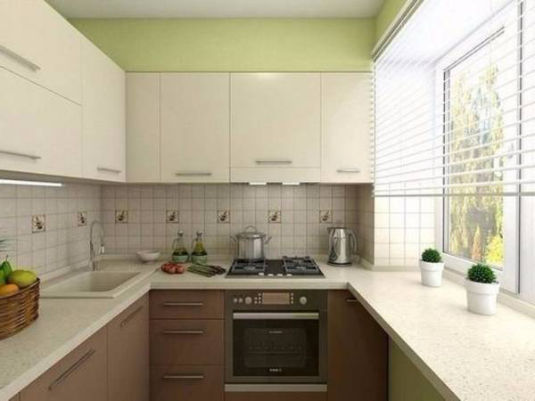 Design of a small kitchen design ideas on 45 photos Make Simple