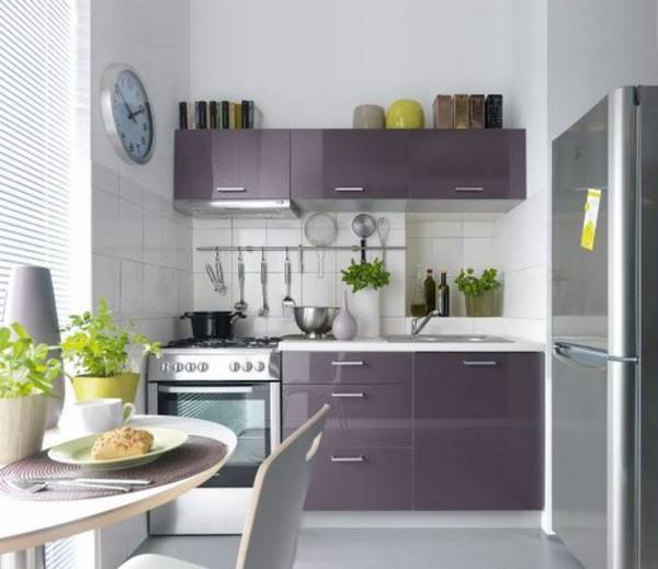 Design Of A Small Kitchen: Design Ideas On 45 Photos