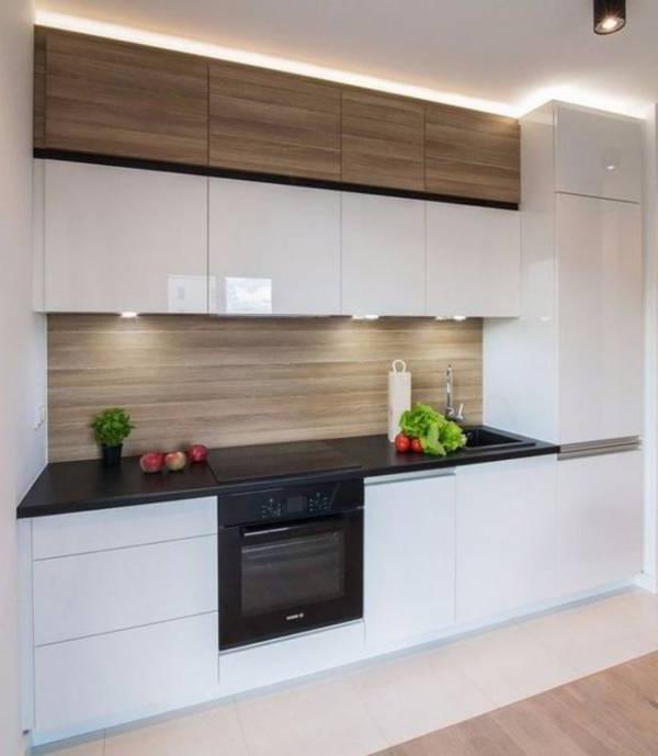 Design Small Kitchen Ideas 45 Photos Simple Style Minimalism Finish