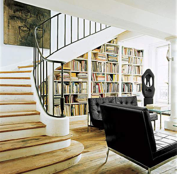 Kitchen Cabinets Under Stairs: Cabinet Under The Stairs In A Private House