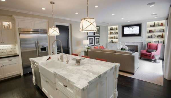 Living Room Kitchen Design Ideas Layout Options And Trends 2020 Make Simple